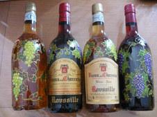 pineau Roussille bouteilles décorées mai