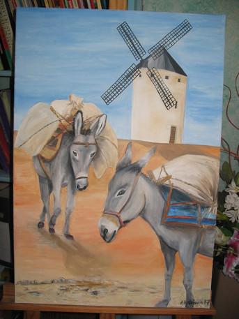 2007 les anes au moulin
