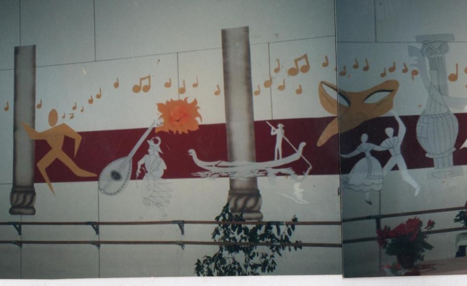 decor muraI thème ITALIE