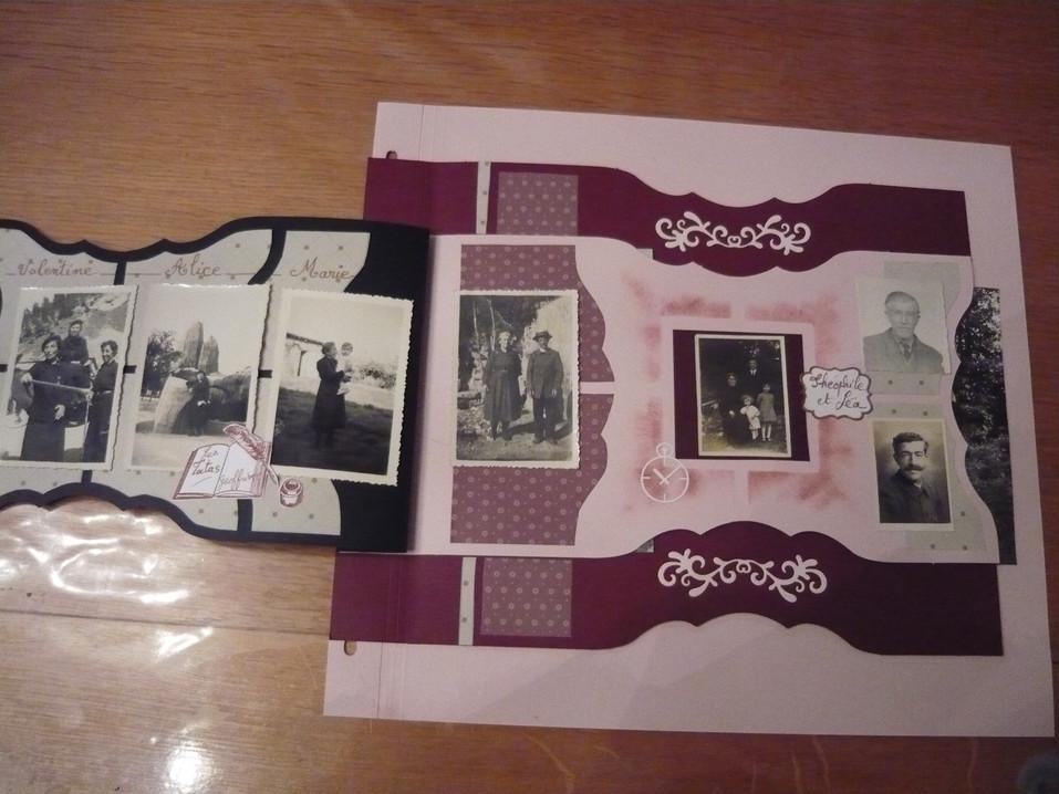 page scrap souvenirs grand-père