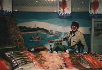 peinture murale poissonnerie_E.Leclerc_Angoulême_2.J