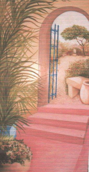 panneau décor entrée St-Yrieix