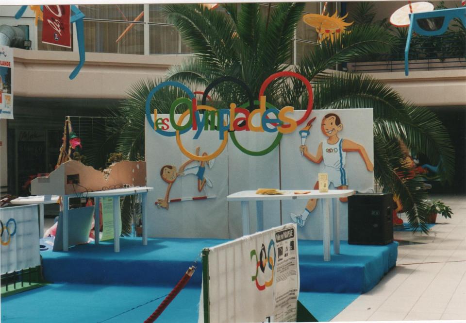 création d'un décor olympiades