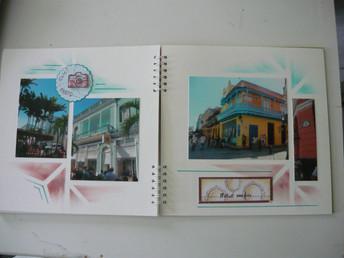 scrap album Cuba