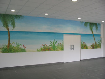 peinture murale Angoulême Basseau