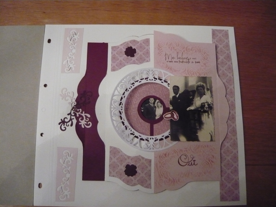 page scrap mariage 1944 page