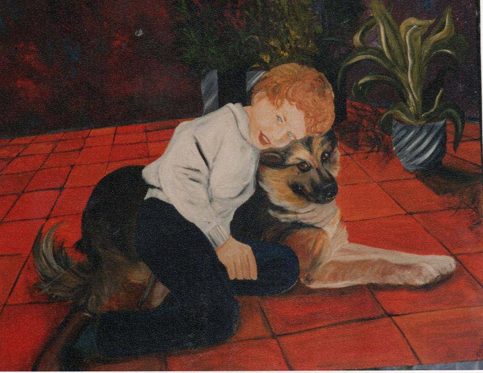 1990 Yann et Lassie