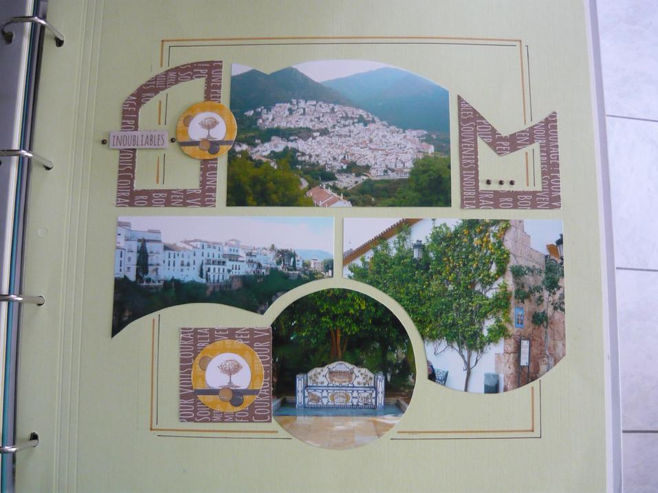 page scrap Andalousie