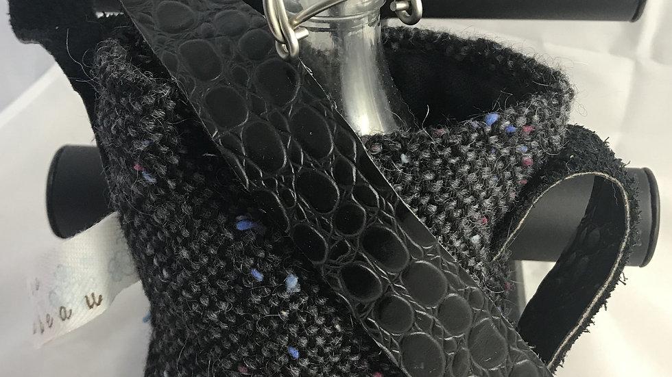 Porte bouteille noir
