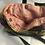 Thumbnail: Sac cabas coton et soie