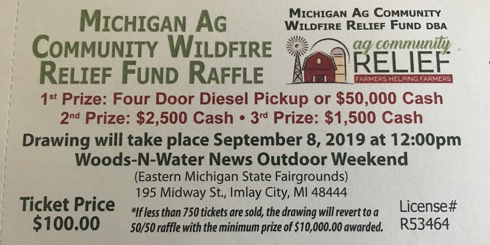 Truck Raffle (tickets may be purchased through store)