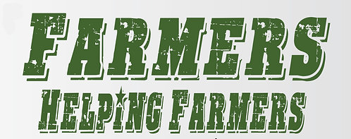 Farmers Helping Farmers Sticker