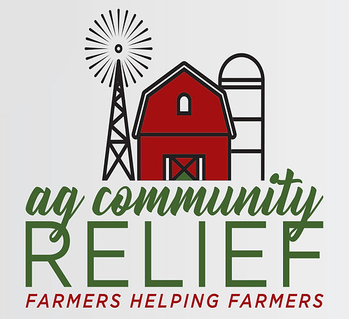 Ag Community Relief Sticker