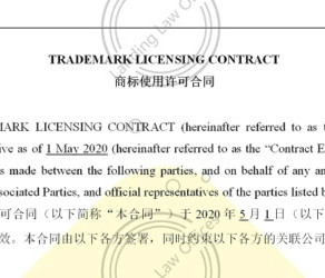 Trademark Licensing Contract Template