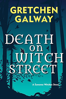 Cover design Death on Witch Street