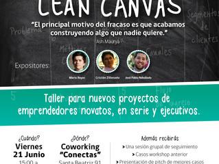 Segundo taller de Lean Canvas en Chile!