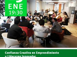 Meetup de Confianza Creativa – Jueves 19:30 en Conectas Coworking Space