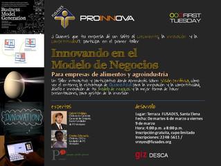 Taller Modelo de Negocios – Fusades Proinnova (El Salvador) – 05 al 09 de marzo