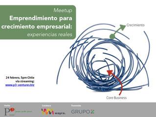"""Meetup """"Emprendimiento para el Crecimiento Empresarial"""""""