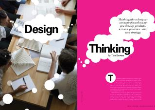 Pensamiento y Diseño: Nuevos Enfoques para Abordar Desafíos y Problemas Sociales