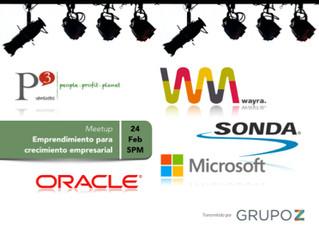 MEETUP: Emprendimiento para el Crecimiento Empresarial   P3 Ventures Líderes en Emprendimiento para