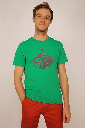 """T-shirt """"Paragliders and mountains"""""""