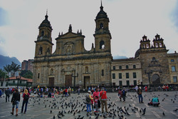 Богота. Площадь Боливара
