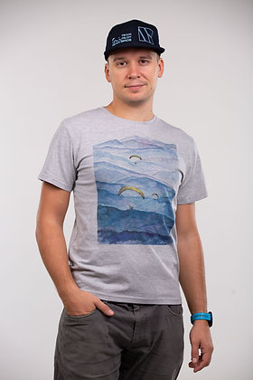 "T-Shirts ""Blue distance"""