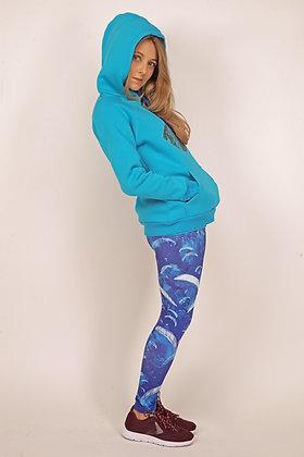 Leggings Fantasy. Blue