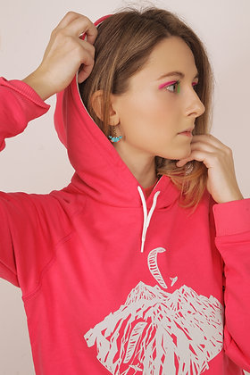 Hoodie with convex pattern