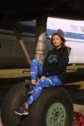 """Indigo Hoodie """"Paragliding World's"""""""