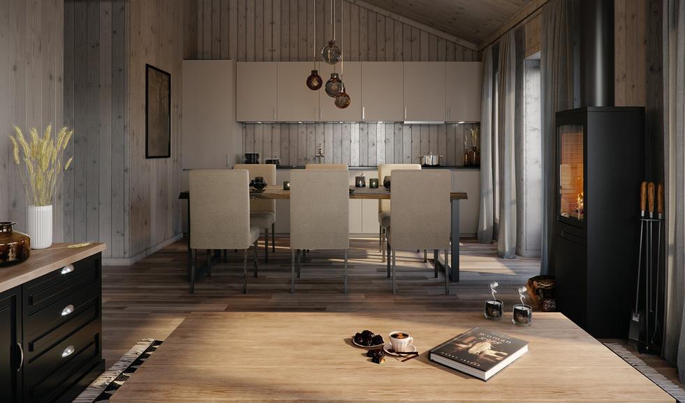 Kjøkken, Leilighet-Lygnagrenda