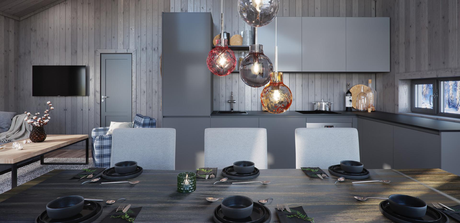 Kjøkken-Hytte