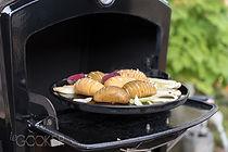cuisson au feu de bois Le gooker