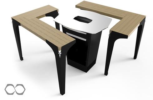 table du brasero plancha Le Gooker