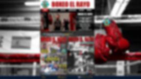 boxeo el rayo, boxeo madrid, diseño web, imagen corporativa, produccion de video, productora de vídeo,