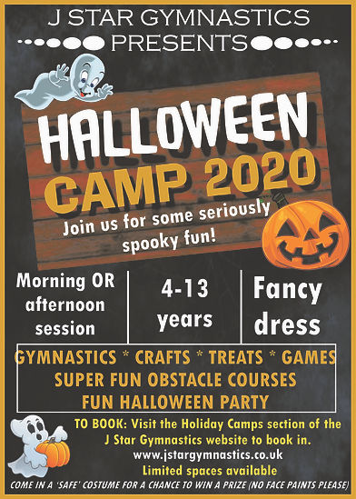 new ninja camp poster SEPT 2020 for face