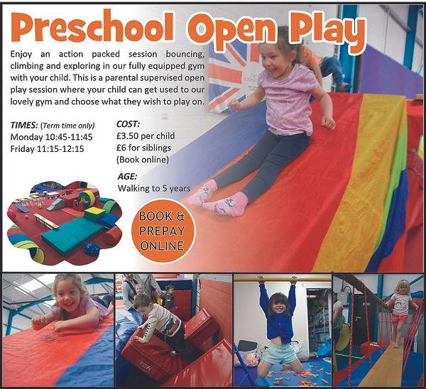 Preschool Open Play collage 1 sept 2020