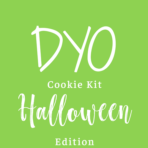 DYO Cookie Kit - Halloween Edition