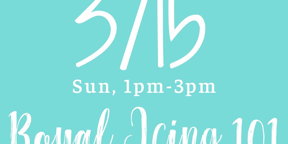 Royal Icing 101 - 1pm-3pm