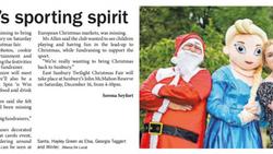 Festival's sporting spirit - Star Weekly