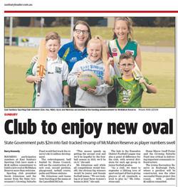 Club to enjoy new oval - Sunbury Leader