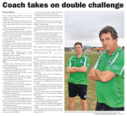 Coach takes on double challenge - Star Weekly