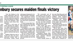 East Sunbury secures maiden finals victory