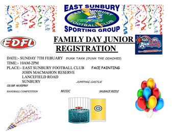 East Sunbury Rego / Family Day
