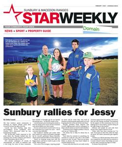 Sunbury rallies for Jessy - Star Weekly