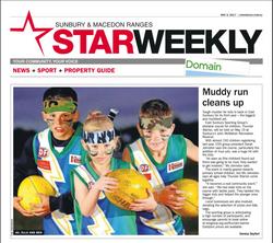 Muddy Run Cleans Up - Sunbury & Macedon Ranges Star weekly