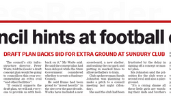 Hope for East Sunbury second oval as budget pitch made - Sunbury Leader