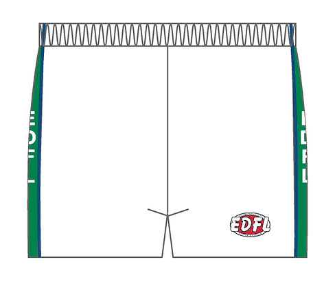 ESFC White Playing Shorts (Away)