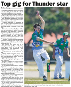 Top gig for Thunder star - Star Weekly